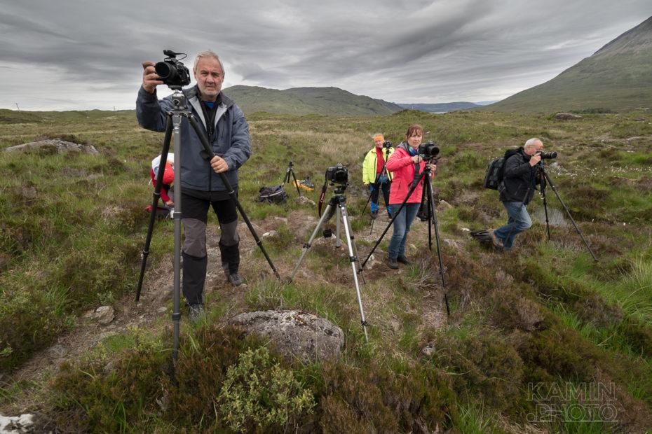 Fotografové na mé Fotoexpedici do Skotska