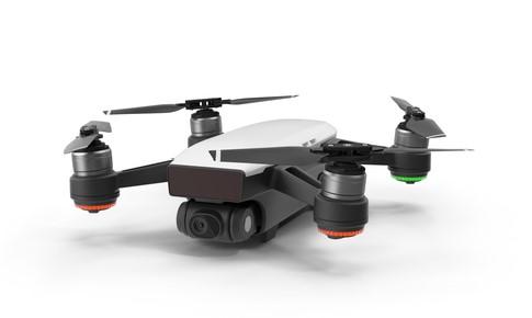 Martin Kamín fotografuje s dronem