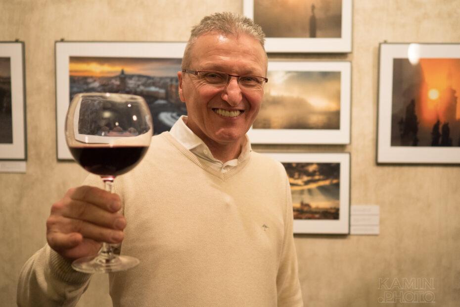 Richard Horák vernisáž výstava Nikon Gallery Praha